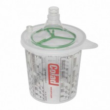 Mixing cup with lid Colad...